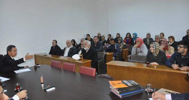 Başkan Uysal, halkı dinliyor