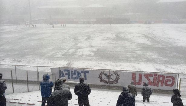 Kömürspor - Kırıkhanspor maçı ertelendi