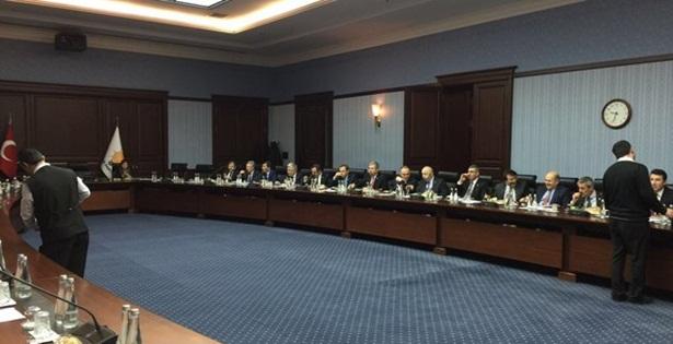 Özbakır ve Ulupınar AK Parti Genel Merkezinde