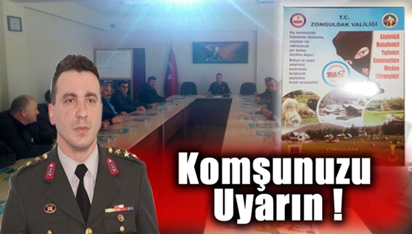Jandarma, hırsızlık ve dolandırıcılık konusunda uyardı