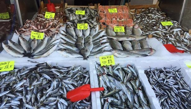 Balık fiyatları düştü