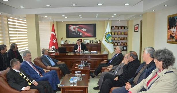 CHP İl Başkanı Altun´dan Nuri Tekin´e nezaket ziyareti