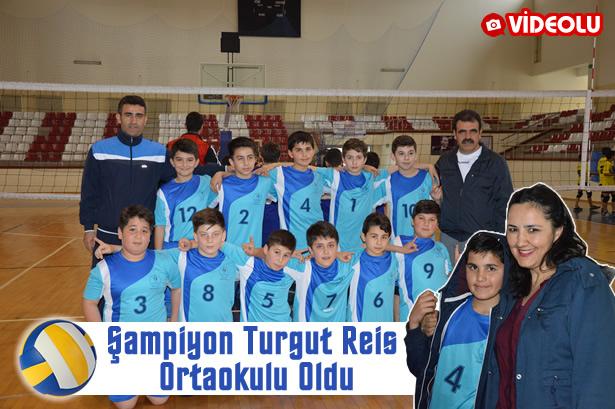 Şampiyon Turgut Reis Ortaokulu oldu