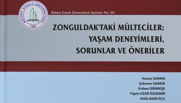 BEÜ Zonguldak'taki mülteciler üzerine yapılan araştırmayı kitaplaştırdı