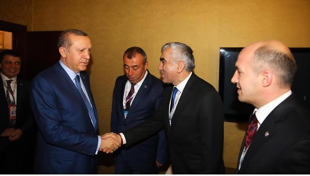 Demirci ve Tıska, Cumhurbaşkanı Erdoğan ile Görüştü