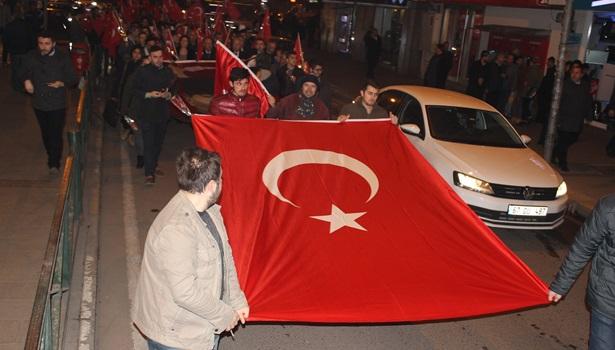 Zonguldak 18 Mart Çanakkale şehitleri için yürüdü