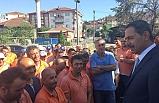 Başkan Uysal, güne şantiyede başladı!