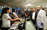 Türkmen'den, özel hastane ziyareti