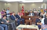 Türkmen, Keleş'i ziyaret etti
