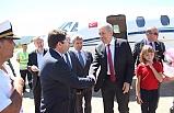 Vali Çınar, Bakan Demircan'ı karşıladı