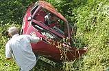 Düzce'de Kaza; 2 Yaralı