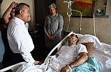 Türkmen ve Tosun'dan ziyaret