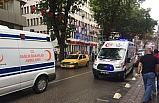 Ambulans, ambulansa yol vermedi!