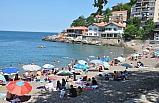 Vatandaşlar plajlara akın etti