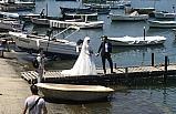 Yeni çiftler, mutluluklarını Akçakoca sahillerinde ölümsüzleştiriyor