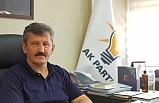 AK Parti İl Başkanı Zeki Tosun, Mahmut Özer'i kutladı