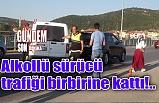 Alkollü sürücü trafiği birbirine kattı!..