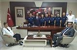 Başkan Uysal, personelle bayramlaştı!..