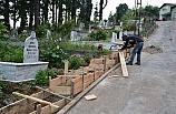 Gülüç'te Mezarlıklar bakıma alındı!..