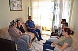Kaymakam, Şehit ailesini ziyaret etti