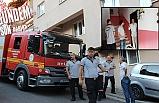 Makarna yüzünden apartmanı yakıyordu!..
