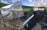 135 KM içme suyu hattı döşendi
