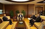 AK heyetten Bakan Kasapoğlu'na ziyaret
