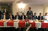 Mehmet Soylu'ya veda yemeği