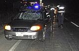 Otomobilin çarptığı yaya hayatını kaybetti.