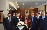 Vali Çınar'ı ziyaret ettiler!