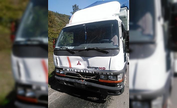 Yenice'de zincirleme kaza, 7 kişi yaralandı