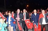 Alaplı'da muhteşem Cumhuriyet yürüyüşü!..