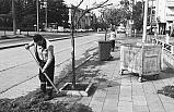 Düzce'de cadde ve sokaklar temizleniyor