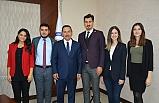 Yeni yönetimden Başkan Uysal'a ziyaret