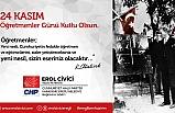 Çivicinin 24 Kasım Öğretmenler Günü mesajı