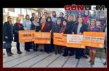 Kadına şiddete 'Dur' dediler
