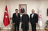 Milletvekili Güneş ve Ünal, Aile ve Çalışma Bakanı Selçuk ile bir araya geldi