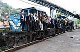 Yıllarca kömür taşıyan raylar turist taşıyacak