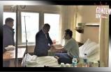 Türkmen, yaralı madencileri ziyaret etti