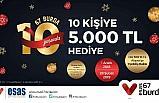 67 Burda AVM'den 10. yıla özel 'Param Kart' kampanyası