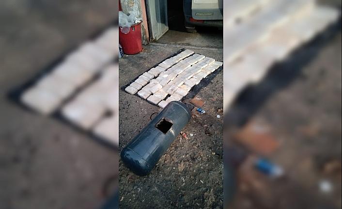 Aracın LPG tankında 35 kilo eroin ele geçirildi