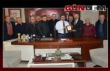 Başkan Uysal'a teşekkür ziyareti