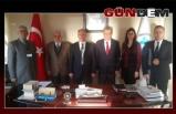 Kaymakam Çorumluoğlu, DTO'yu ziyaret etti