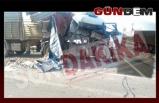 Kdz. Ereğli'de feci kaza: 1 yaralı