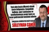 Süleyman Caner Yeni Yıl Mesajı!..