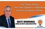 Vacit DURDUBAŞ Yeni Yıl Mesajı!..