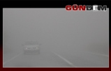 Zonguldak'ta sis etkili oluyor!
