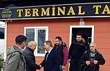 Başkan Uysal, taksici esnafıyla görüştü