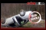 Zonguldak-Ereğli yolunda kaza...