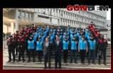 40 yardımcı yunus polisi göreve başladı!..